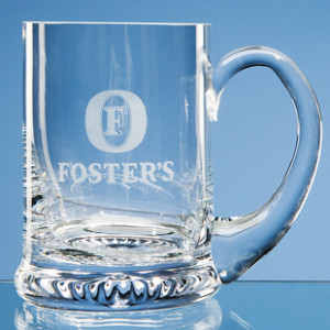 Crystal glass tankard